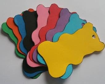 Small Gummy Bear Gift Tags/Teddy Bear Gift Tags