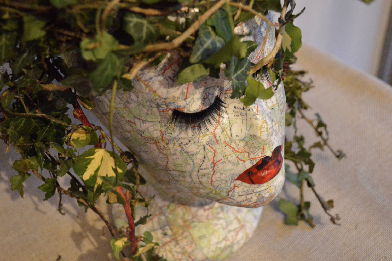 Head planter - Medusa head planter ...