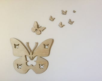 Butterfly Wall Decor, Home Decor, Nursery