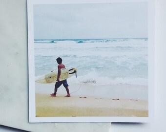 Hawaiian Surfer 5.5x5.5 Print