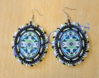 Native Beaded Earrings