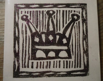 Kings Crown Christmas Card