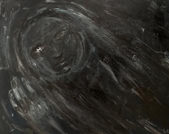 spectre ~ original painting