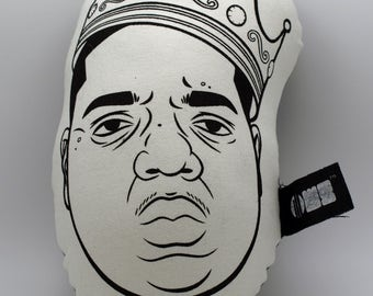 BIGGIE-ILLOW-Hip Hop Throw pillow