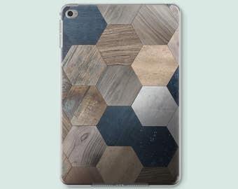 Geometric iPad Smart Case iPad Cases iPad Mini 2 Case Wood iPad Air 2 Case iPad Mini 4 Case iPad 3 Cover iPad 2 Cover iPad Pro 9.7 COCi012