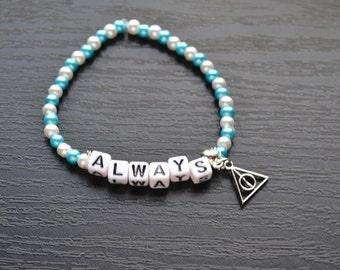 Harry Potter Always Severus Snape Bracelet