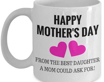 Mother's Day Mug - Coffee Lovers Mug - Gifts Under 20 - Humorous Mug - Gift For Her - Gift For Mom - Novelty Mug - Mom Coffee Mug - Love Mom