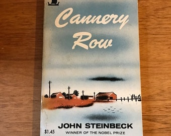 Cannery Row by John Steinbeck 1972 paperback