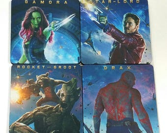 Guardians of the Galaxy Rubber Coaster Individual/Set