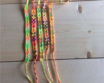 Neon Friendship Bracelet