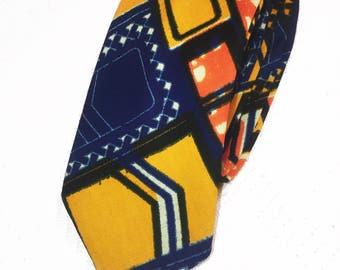 Mens Neck Tie - African Print