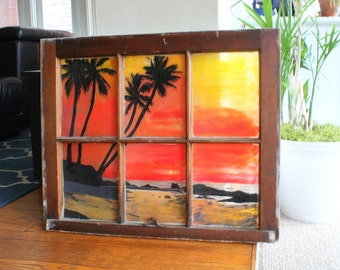 Beach - Window Painting