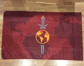 Star Trek Flag   Terran Empire Landscape   Long Lasting Flag