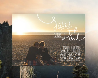 Beach Style, Breezy Save the Date Card