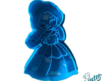 Cute Belle Beauty and Beast Cookie Cutter