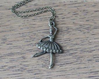 dance girl necklace