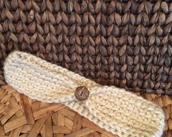 Soft Earwarmers!  Camel color - XL size