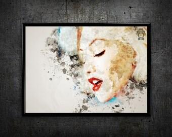 Gwen Stefani print Gwen Stefani poster Gwen Stefani art print wall art home decor