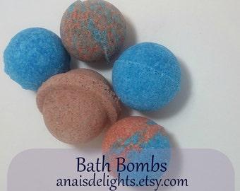 3 Pack Bath Balls 2 oz/ bath bombs/ bath fizzies/bath soak/ bath spa