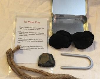 Flint and Steel Fire Kit