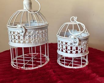 Set of 2 Bird Cage, Decoration Centerpiece for all Occasion FREE SHIPPING!!!!
