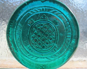 "Medium Cape Cod Turtle Pressed Art Glass Suncatcher Ornament - Size 3 1/2"" +"