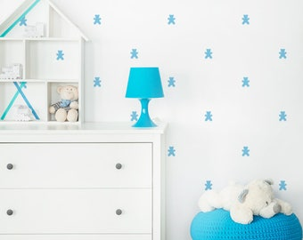 Vinyl child - Little teddies - Mini teddy bears removable decorative vinyl