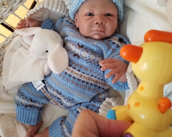 Beautiful Biracial Reborn Baby Doll - One of a Kind