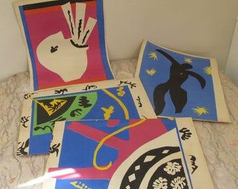 Matisse cut-out prints