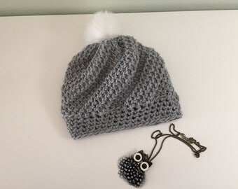 Tunisian crochet Hat Chic
