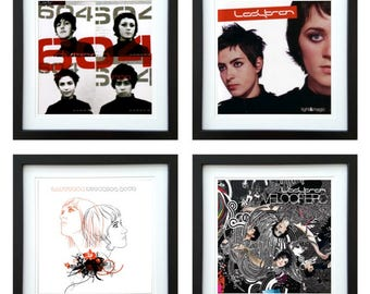 Ladytron - Framed Album Art - Set of 4 Images