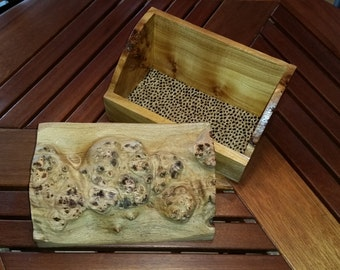 Burl box from Pacific Northwest