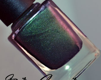 High Roller - Green Red Multichrome Color Shifting Nail Polish