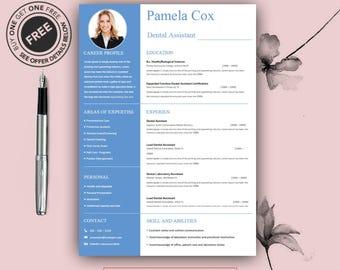 Teacher Resume Template | Cover Letter for MS Word | Medical CV Design | Instant Digital Download | Dental | Doctor | A4 & US Letter