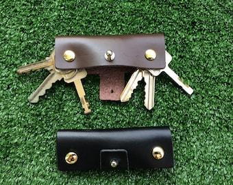 Genuine Leather Key Holder, Key Organizer,Key Chain Free shipping