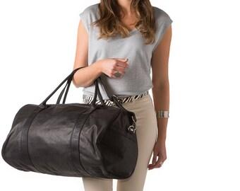 Alex Handmade Leather Duffel Bag