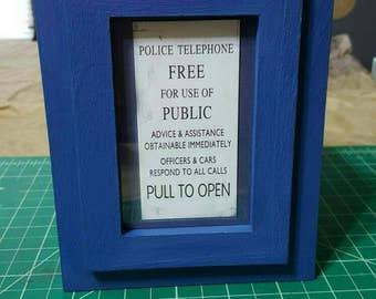 Doctor Who tardis box, keepsake, jewelry, trinket blue box great gift for any Doctor Who fan!