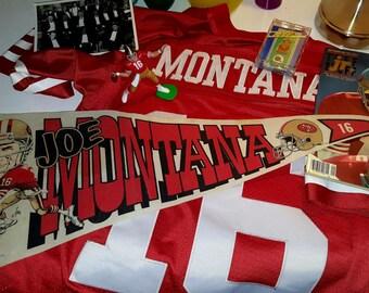 Joe Montana Memorabilia