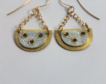Riveted Earrings