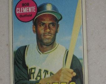 1969 Topps Roberto Clemente #50