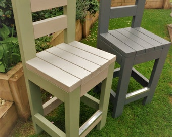 Bar Stools - Indoor or Outdoor Use - Your Choice of Various Vibrant Colours