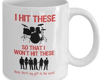 Drum Mug - Great Drummer Gift!