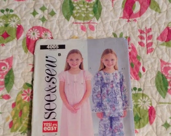See and Sew 4005 Sizes 6-8