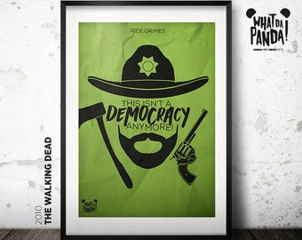 The Walking Dead - This isn't a democracy anymore!
