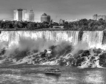 The Splendid Niagara Falls - View from Canadian Side