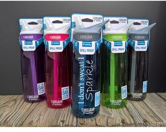Gym Bottle ~ Fitness Water Bottle ~ Workout Bottle ~ Motivational Water ~ Motivational Bottle ~ Camelbak Bottle ~ Custom Camelbak