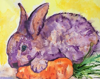 Purple Bunny