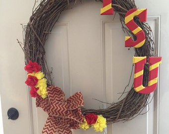 Customized Grapevine Wreaths