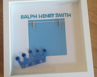 New Baby Personalised Gift Frames