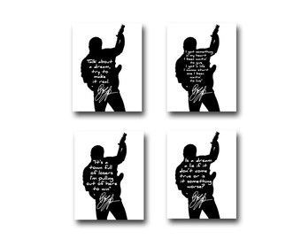 4 Bruce Springsteen Quote Art Prints